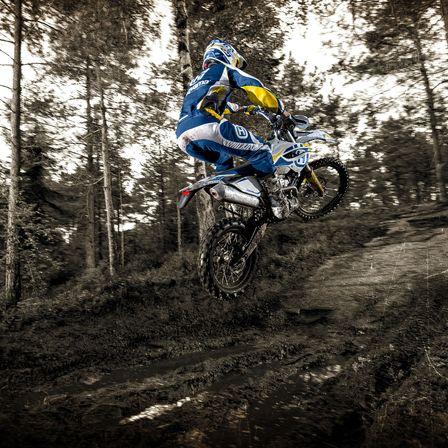 Motocicleta Husqvarna Agilitate cu precizie chirurgicala