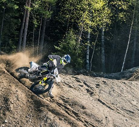 Motocicleta Husqvarna Viteza prin putere superioara