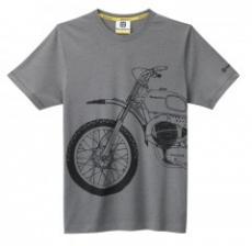 "Tricou schitat ""BikeTee"" Husqvarna"