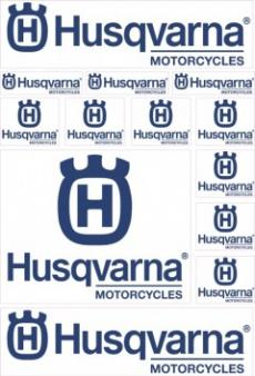 Set Sticker Husqvarna